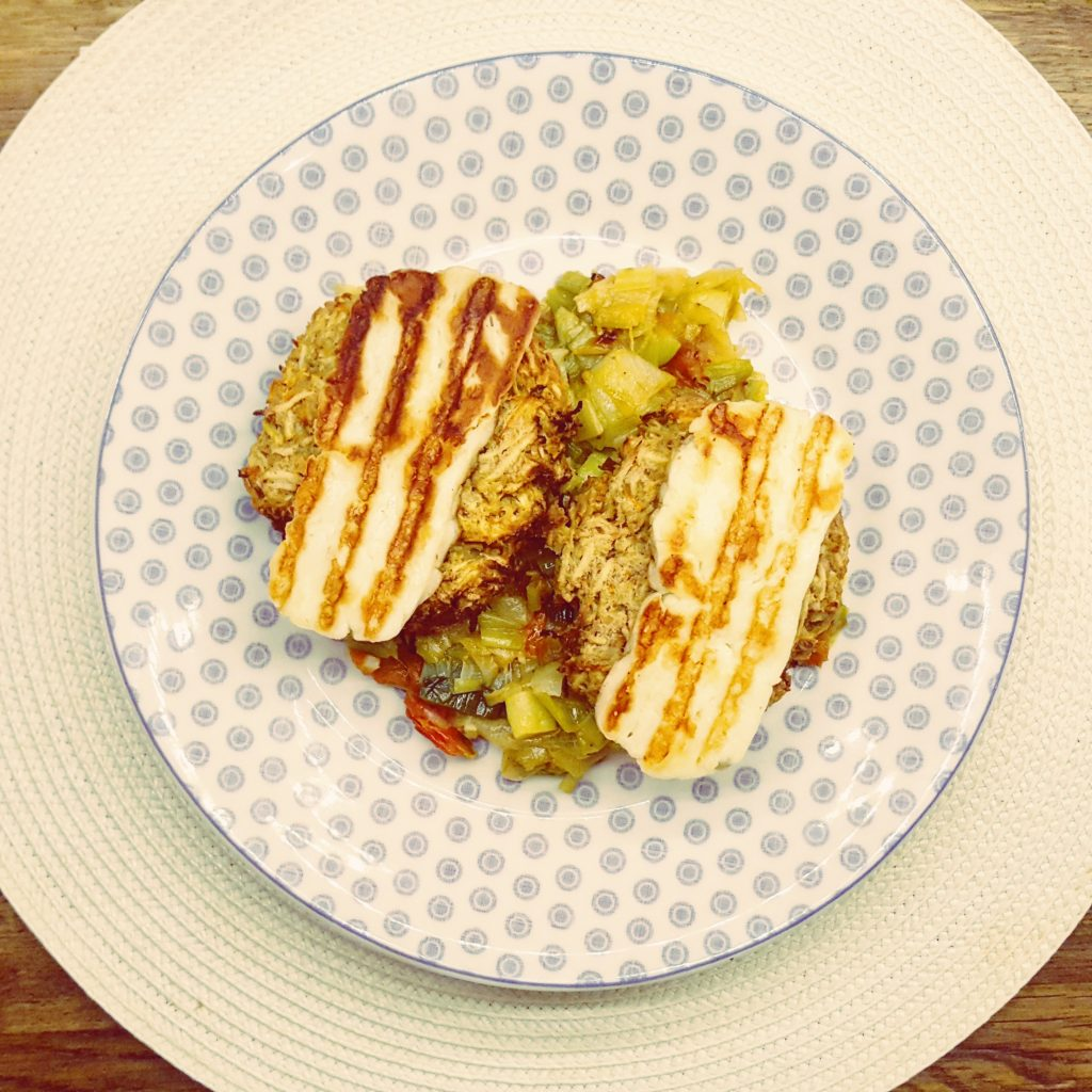 Parsnip and Chickpea Fritters