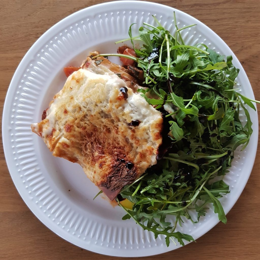 Rich Vegetable Lasagne