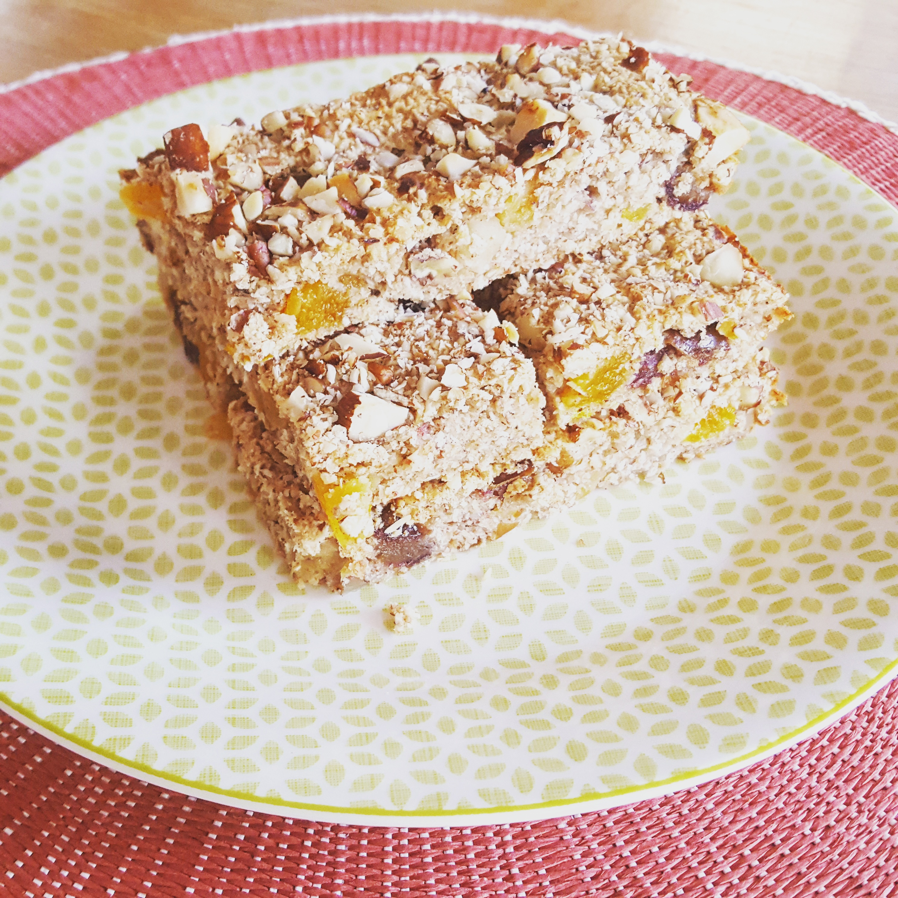 Fruit and Nut Concoction Bars