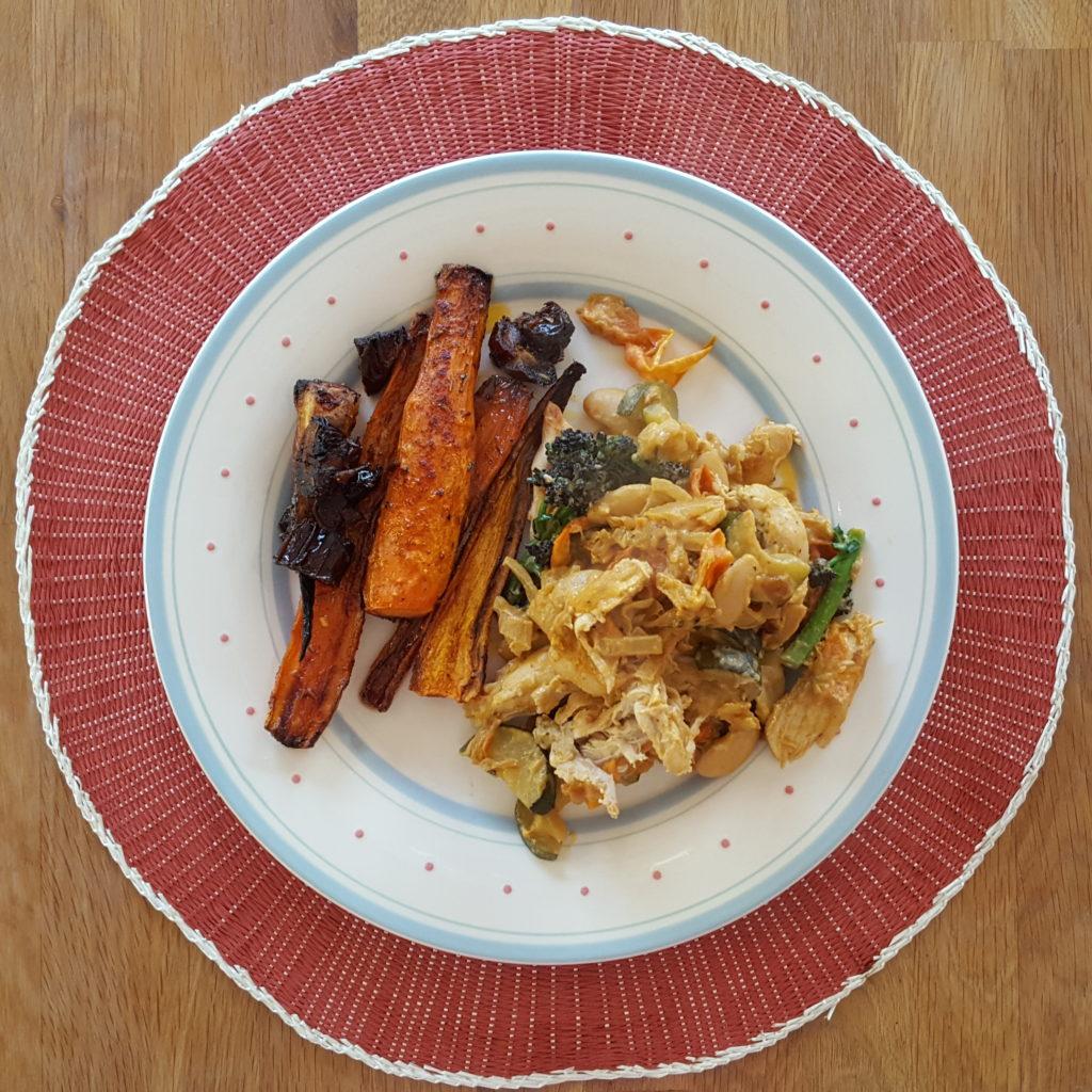 Chicken and butterbean ratatouille