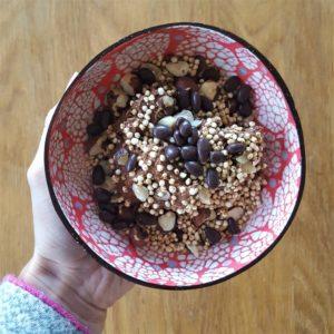 Chocolate-lover's breakfast