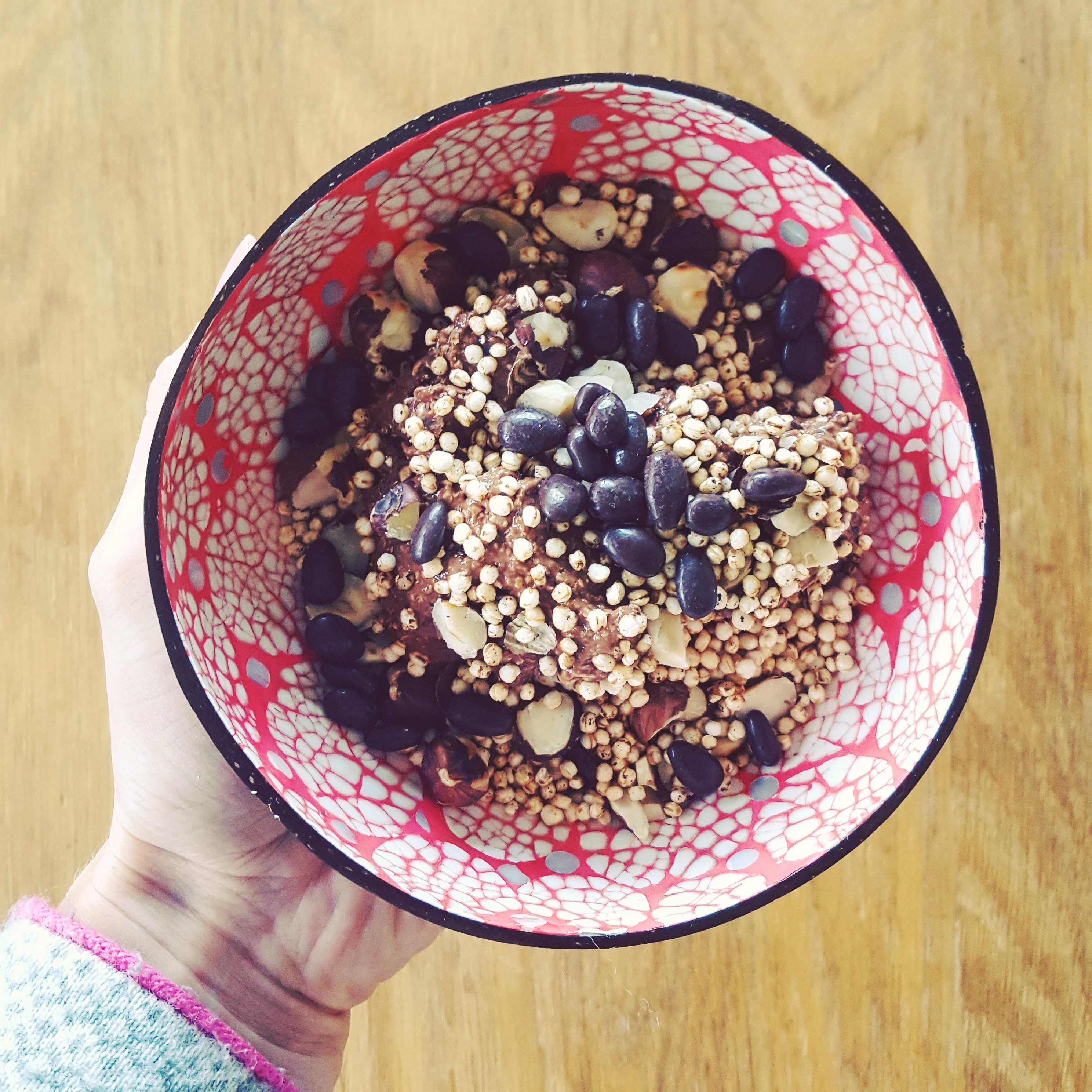 Chocolate lover's breakfast