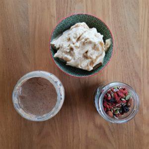 Persimmon nice-cream