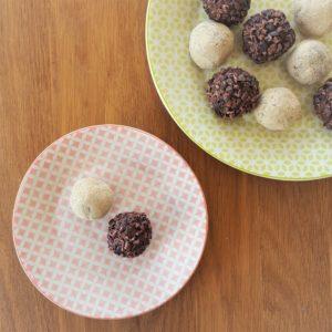 Coffee Maca Date Balls