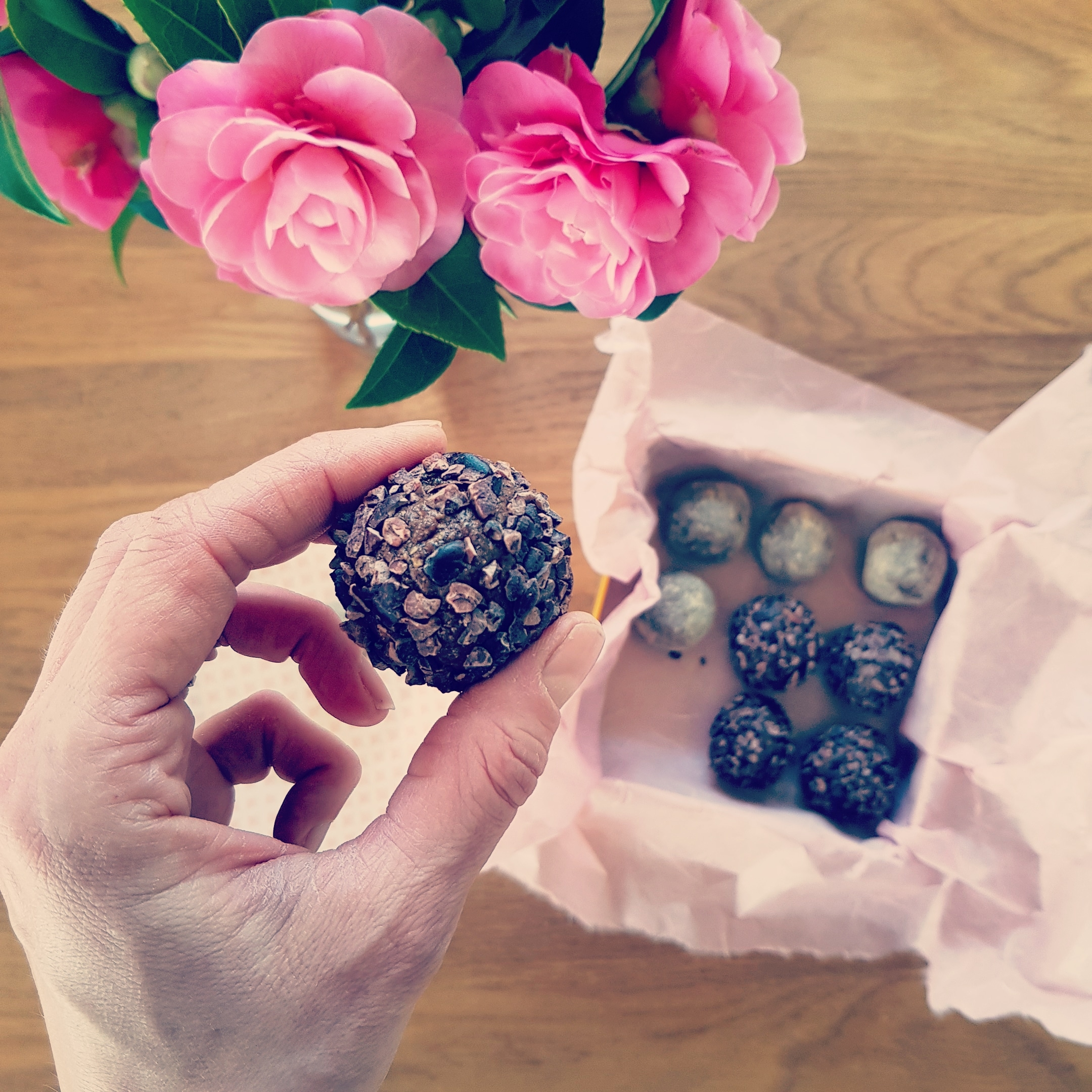 Coffee Maca Date Balls