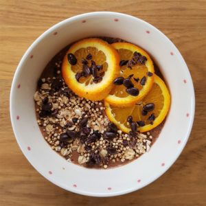 Chocolate Orange Chia Pudding