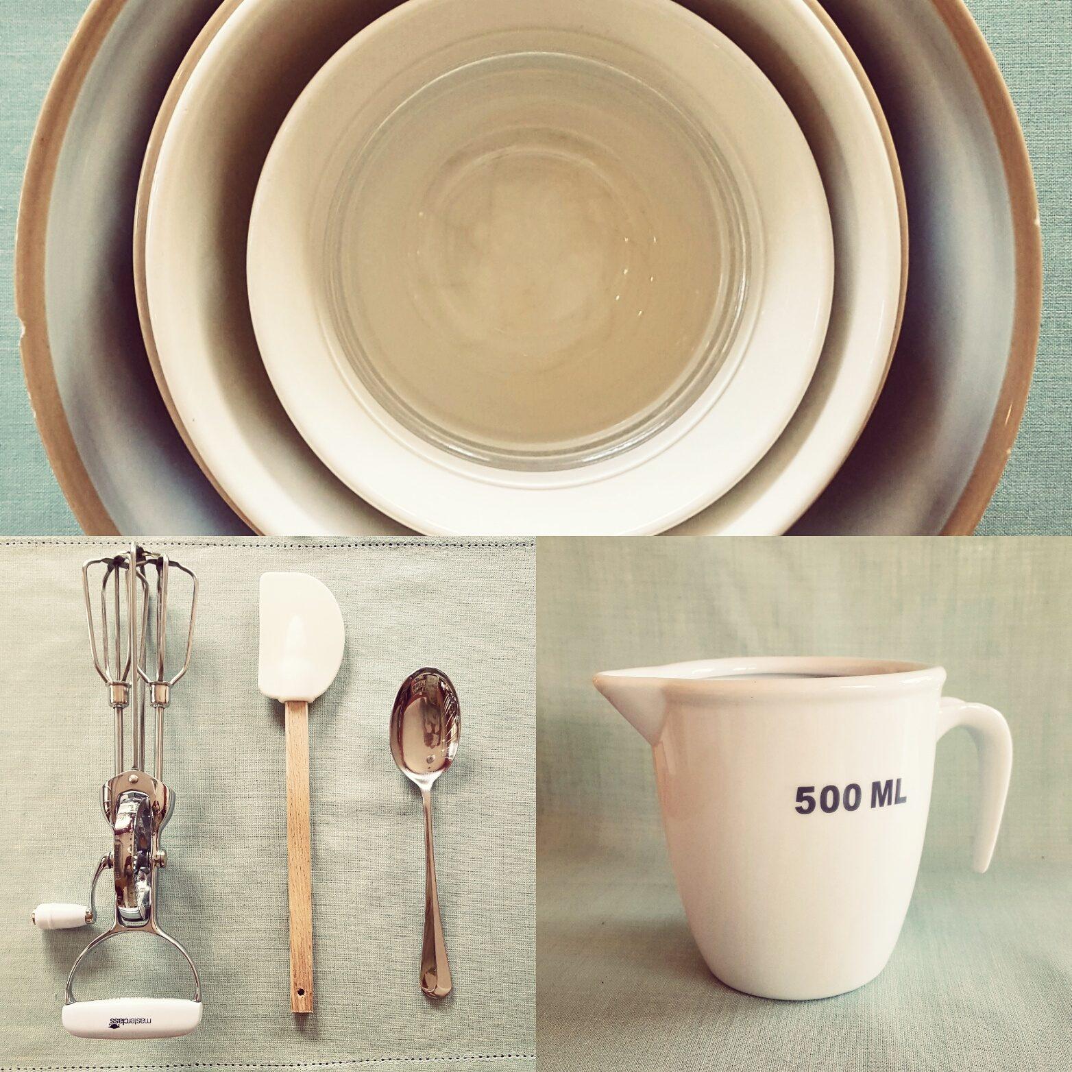 Essential cooking equipment